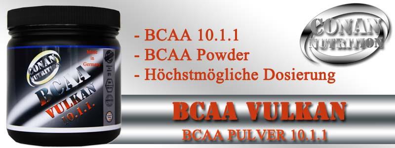 Conan Nutrition BCAA VULKAN Banner