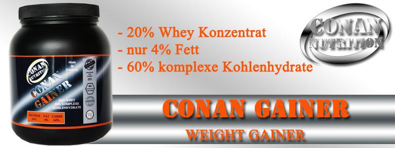 Conan Nutrition CONAN GAINER Banner