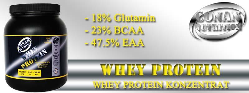 Conan Nutrition WHEY PROTEIN Banner