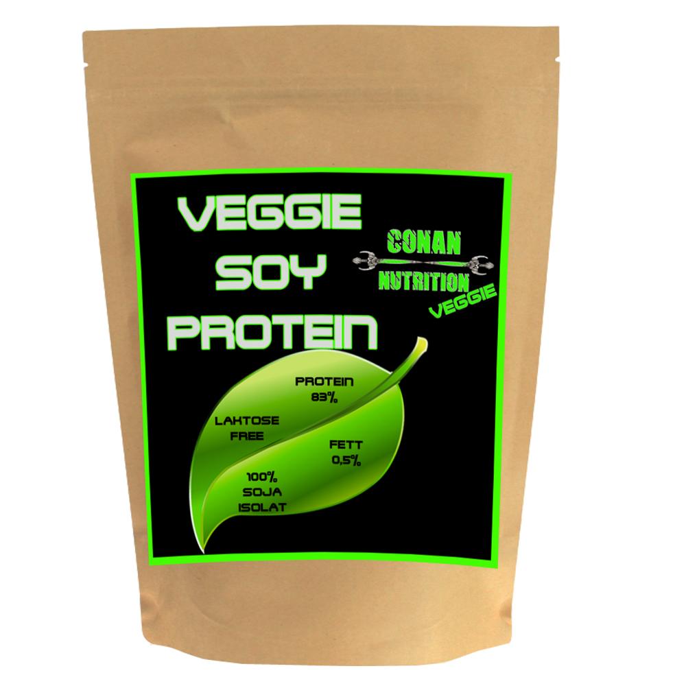 SOY PROTEIN CONAN NUTRITION VEGGIE P