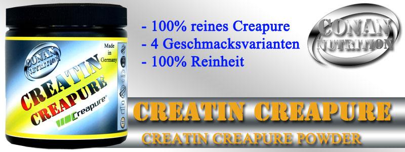 Conan Nutrition CREATIN CREAPURE Banner