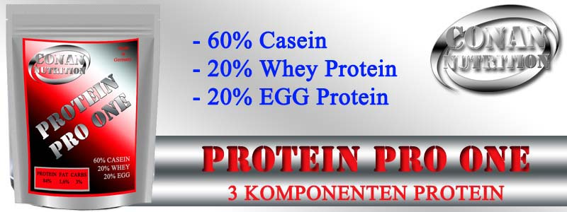 Conan Nutrition PROTEIN PRO ONE Banner