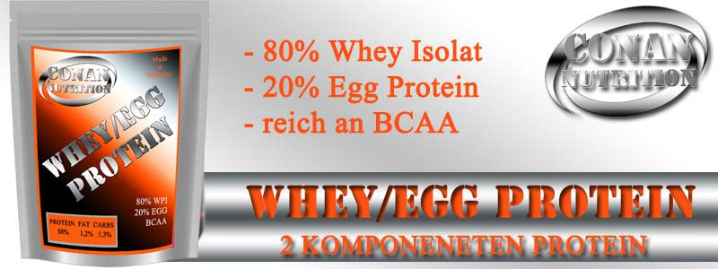 Conan Nutrition WHEY EGG PROTEIN Banner