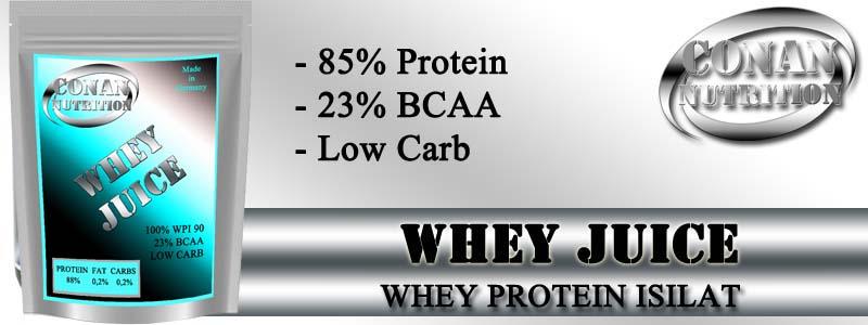 Conan Nutrition WHEY JUICE Banner