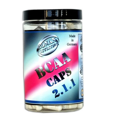 BCAA CAPS CONAN NUTRITION
