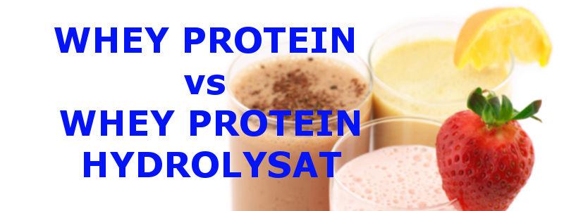 whey protein vs Whey Hydrolysat