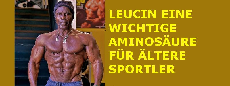 LEUCIN – EINE WICHTIGE AMINOSÄURE FÜR ÄLTERE SPORTLER.
