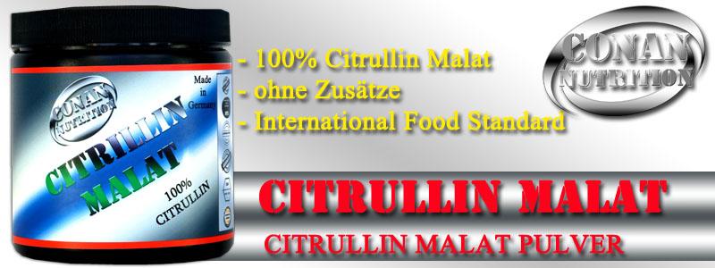 Conan Nutrition CITRULLIN MALAT Banner